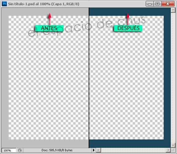 Personalizando Photoshop: Cambiar el color de fondo
