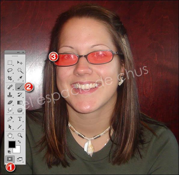 Cambiar el color de los cristales de las gafas