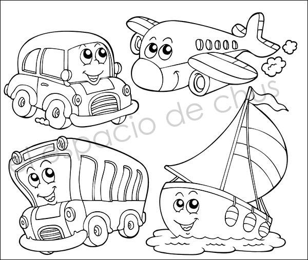 Dibujos Infantiles Para Colorear 1 El Espacio De Chus