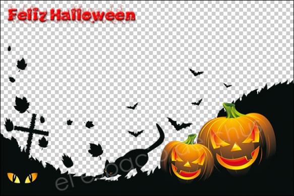 Plantilla Halloween #5 | El espacio de Chus