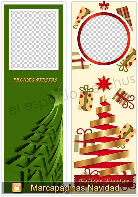 Marcapáginas Navidad