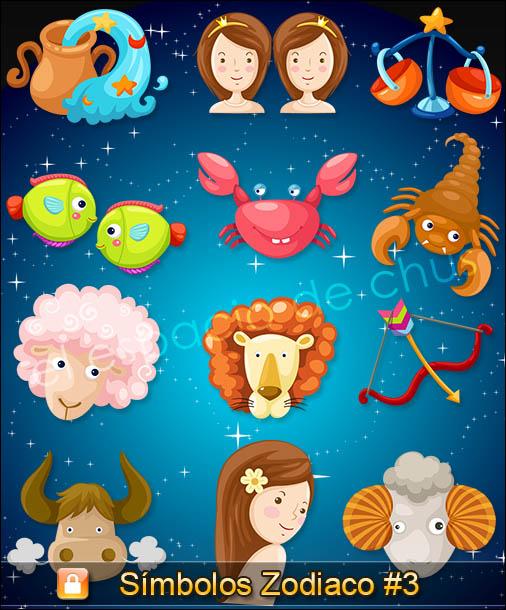 Símbolos Zodiaco