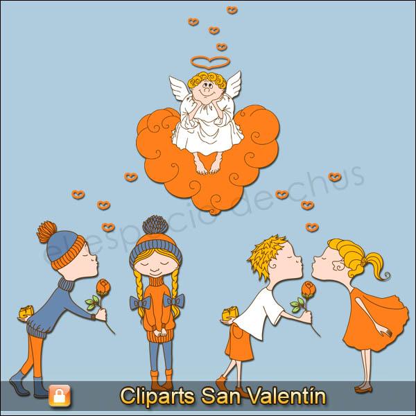 Cliparts San Valentín