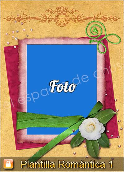 Plantilla romántica #1