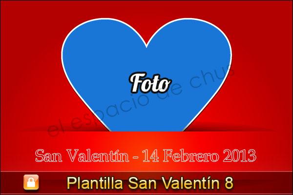 Plantilla san valentin #8