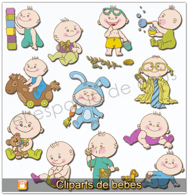 Cliparts de bebes #03