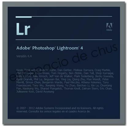 Adobe Photoshop Lightroom 4.4