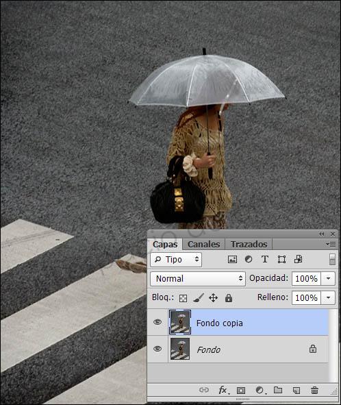 Añadir lluvia a una imagen con Photoshop-1