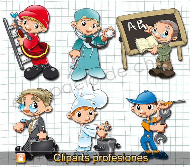 Cliparts infantiles - Profesiones #01