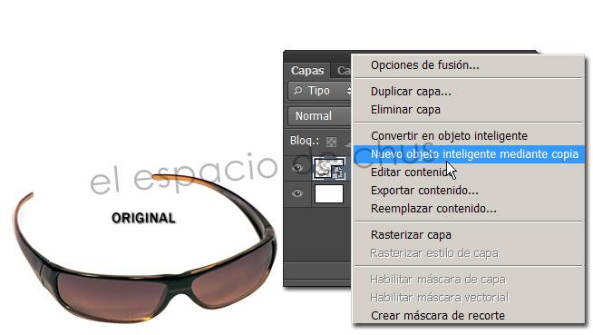 Duplicar objetos inteligentes en Photoshop - Nuevo objeto inteligente mediante copia