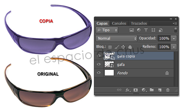 Duplicar objetos inteligentes en Photoshop - Nuevo objeto inteligente