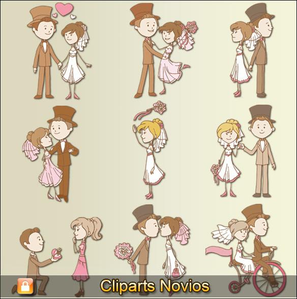 Cliparts novios #02