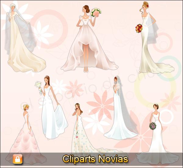 Cliparts novias #01