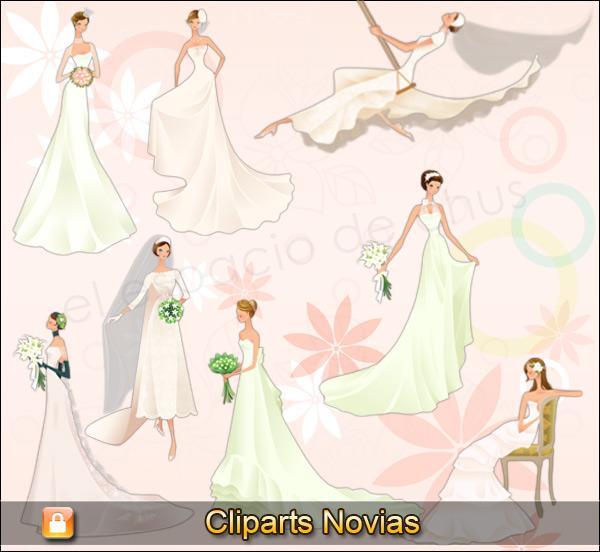Cliparts novias #04