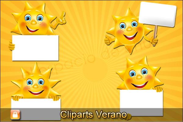 Cliparts verano #01