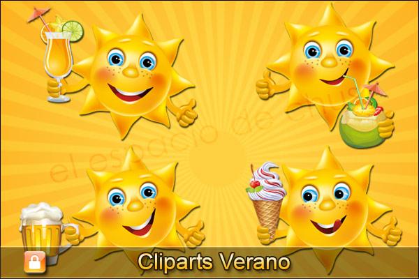 Cliparts verano #02