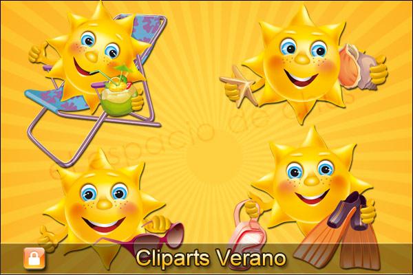 Cliparts verano #03