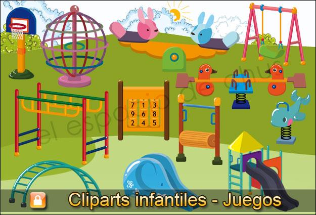 Cliparts infantiles - Juegos #01