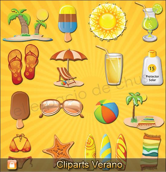 Cliparts verano #04