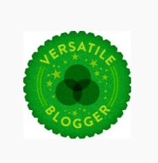 Nominación al Versatile Blogger Award