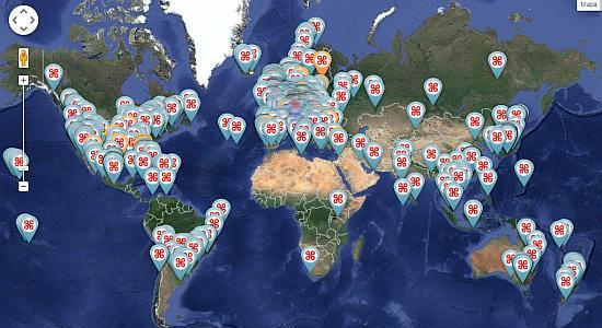Recorrer el mundo a lomos de drones