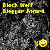 Black Wolf Blogger Award