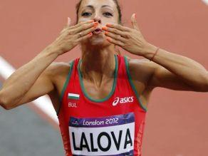 Ivet Lalova - atleta búlgara