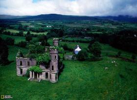 Mansion abandonada cerca de Kilgarvan, Irlanda - Créditos: Sam Abell