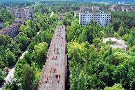 Ciudad radioactiva abandonada; Pripyat, Ucrania - Créditos: castlemaineindependent.org