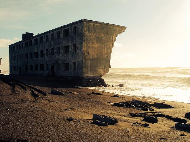 Ciudad de los Pescadores abnadonada en Kamchatka, Rusia - Créditos: englishrussia.com