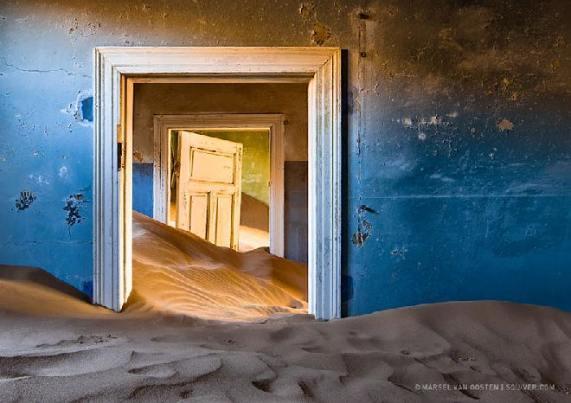 Ciudad minera abandonada, Namibia - Créditos: Marsel Van Oosten