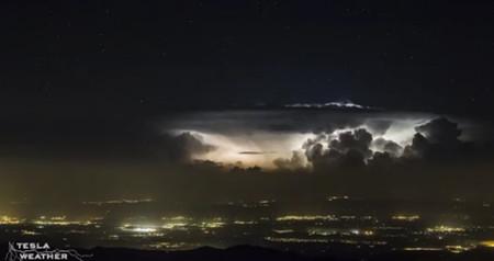 Time-lapse tormenta