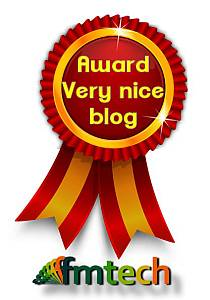 Very Nice Blog FMTECH Award