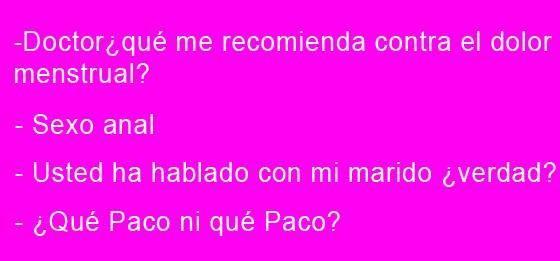 ¿Qué Paco ni qué Paco?