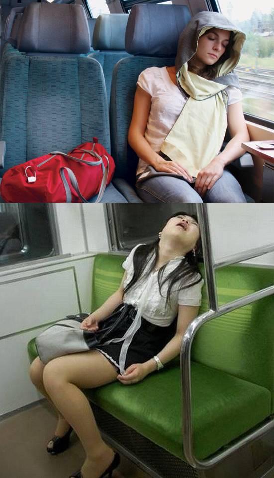 Diferencia entre hacerse la dormida y estar dormida / Difference between pretending to be asleep and to be asleep