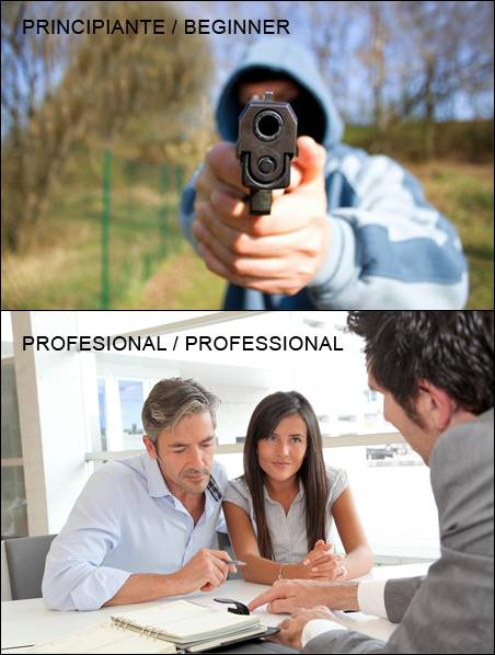Tipos de ladrones / Types of robbers