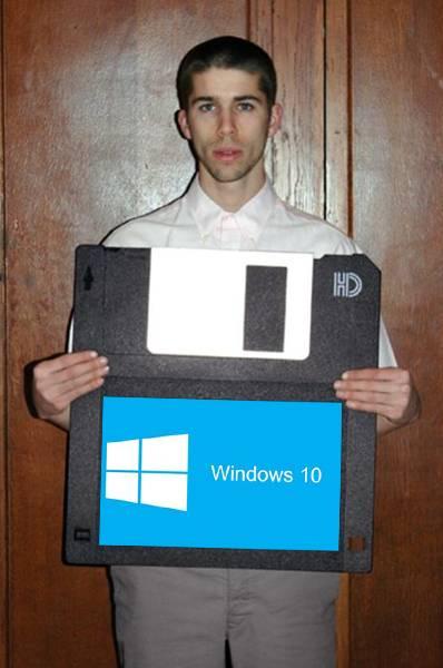 Windows 10 disponible en disquete / Windows 10 available on diskette