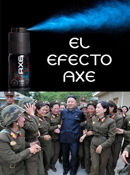 El efecto Axe / The Axe effect