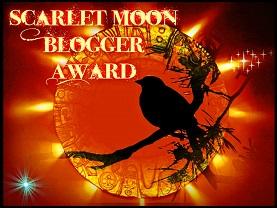 The Scarlet Moon Blogger Award