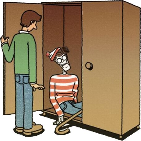 ¿Dónde estaba Wally? / Where was Wally?