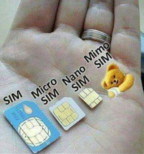 Tarjetas SIM / SIM Cards