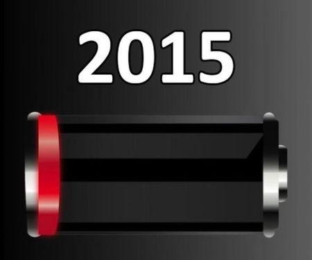 2015 - batería baja / 2015 - low battery