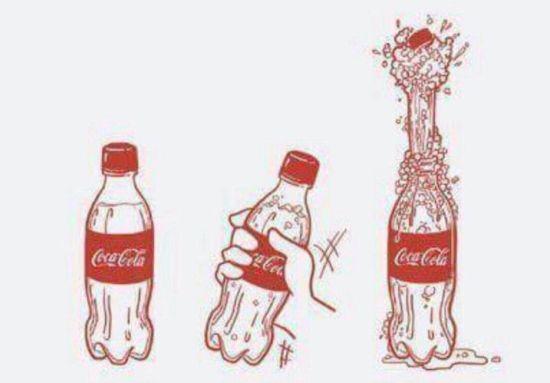 Los hombres somos como la Coca-Cola / Men are like Coke