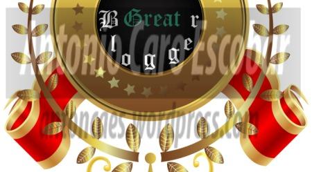 Premio Great Blogger