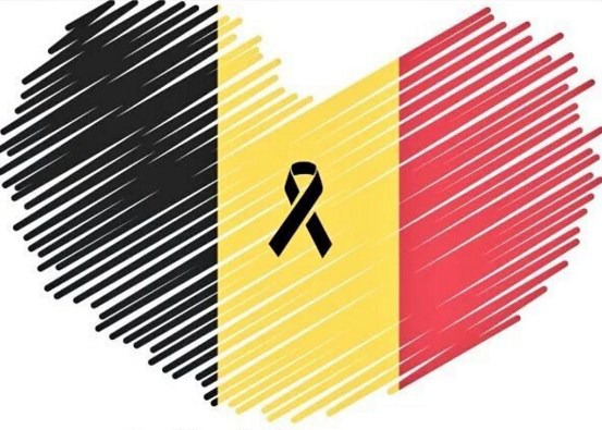 Aujourd'hui, nous sommes tous Bruxelles / Hoy todos somos Bruselas / Today we are all Brussels