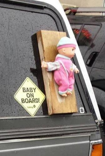 Bebé a bordo / Baby on board