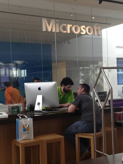 ¿Microsoft?