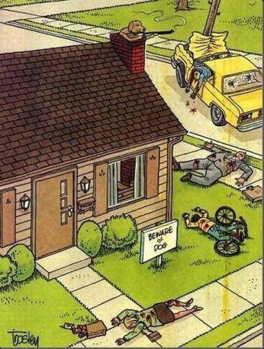 Cuidado con el perro / Beware of dog