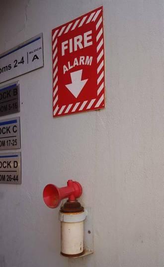 Alarma de incendios / Fire Alarm
