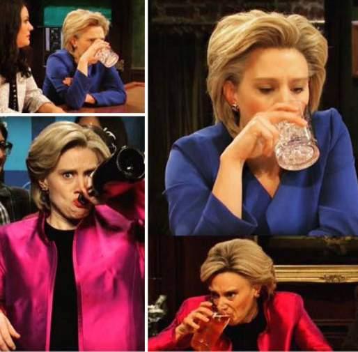 El último fin de semana de Hillary en imágenes / Hillary's last weekend in pictures